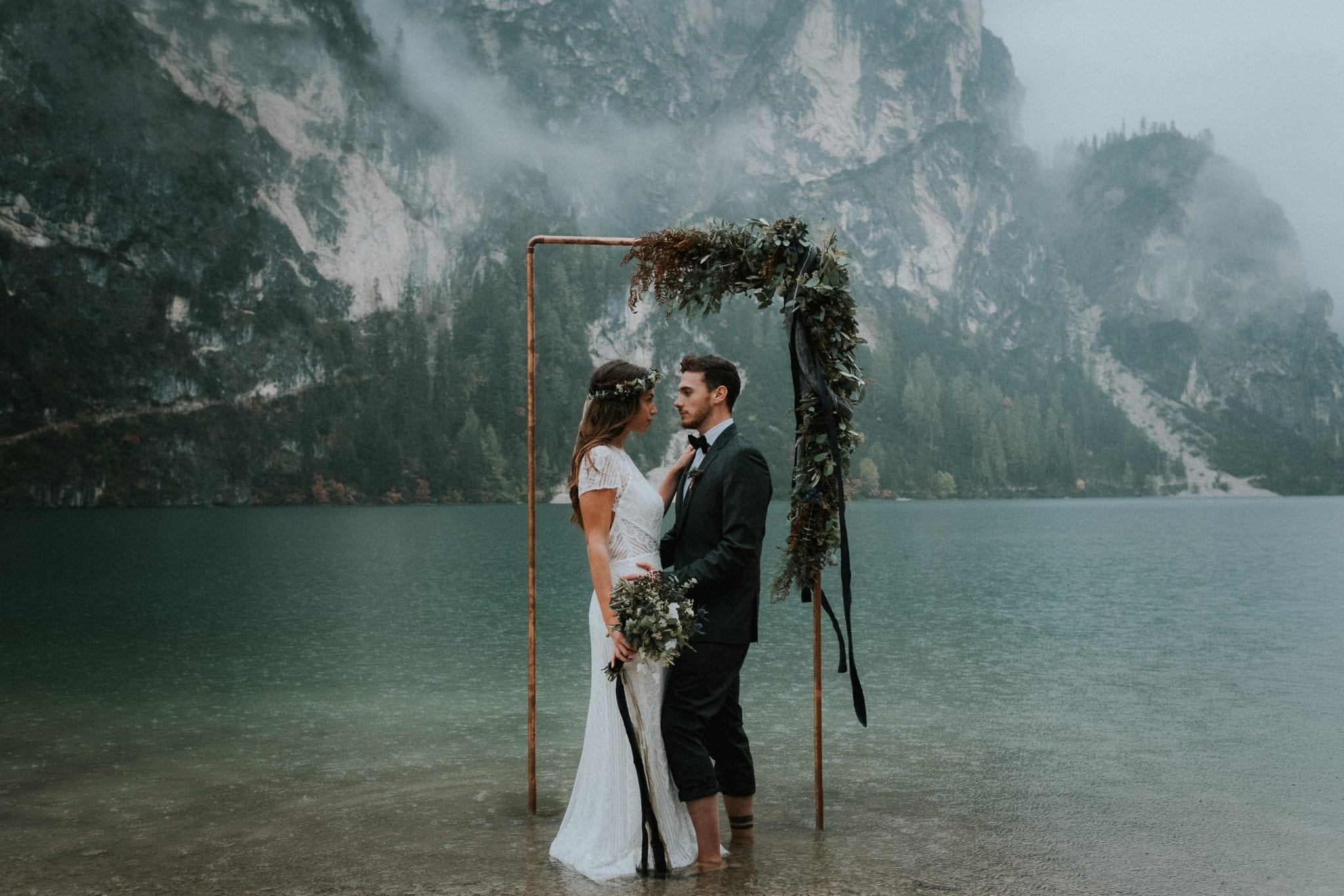Wedding, Lago di Braies, Italy, Wedding, Photo, Elopement