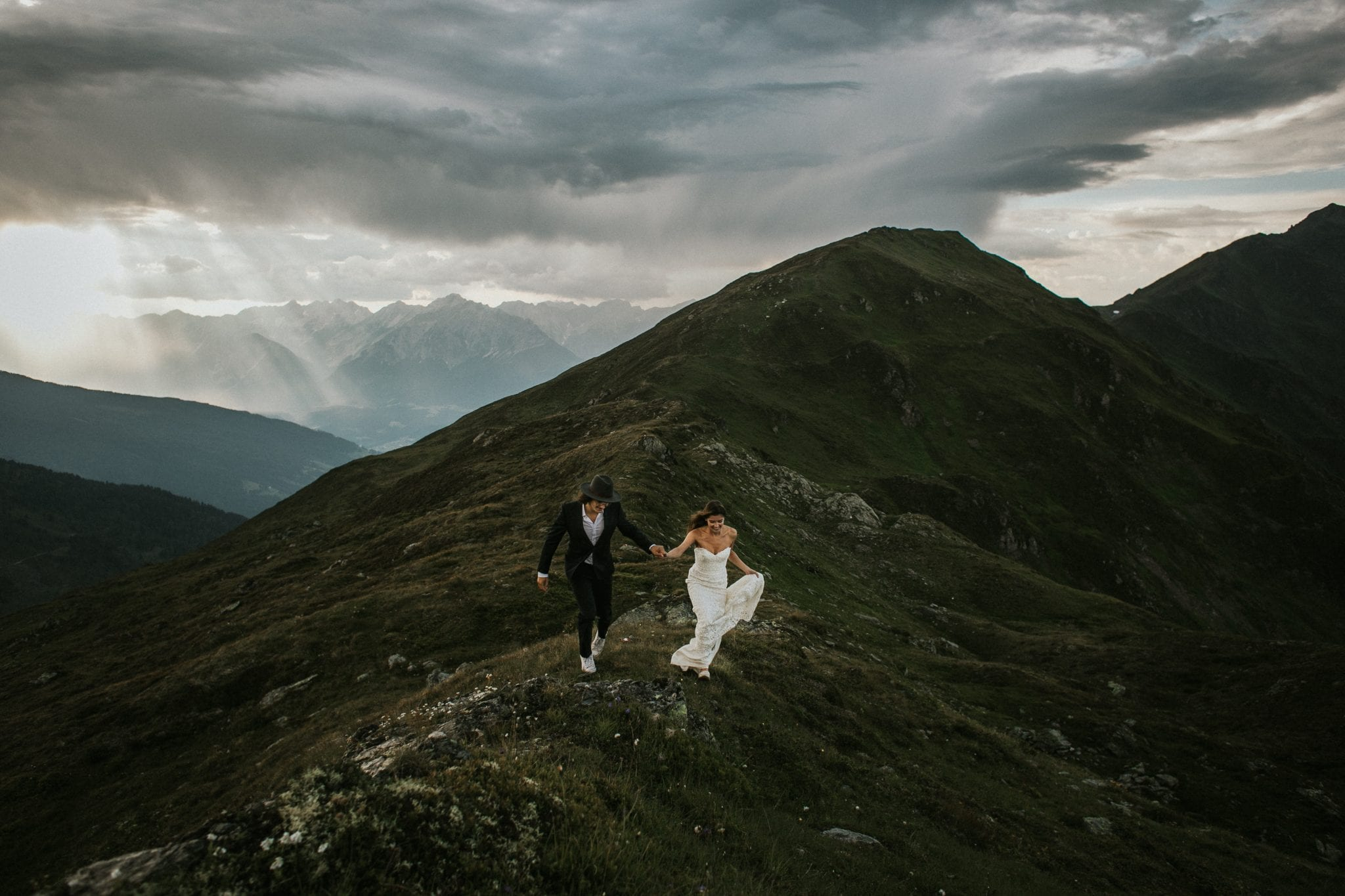 Tyrol, Mountain, Wedding, Alm Hochzeit, Blitzkneisser, Mountain Elopement, Blitzkneisser